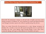 home water damage remediation in durham nc