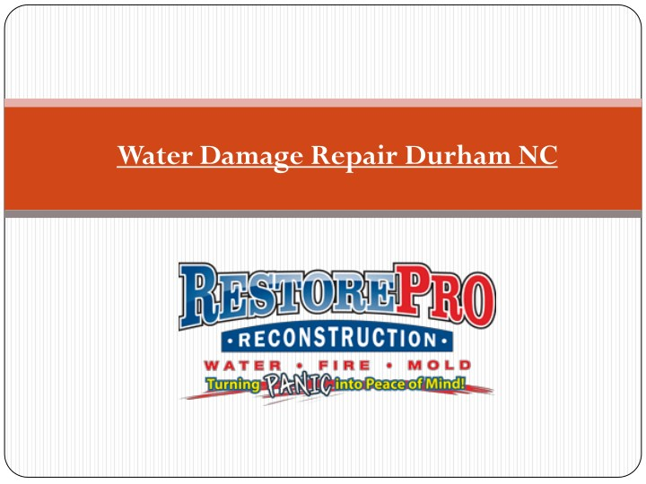 water damage repair durham nc n.