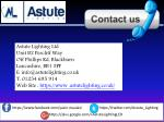 astute lighting ltd unit b2 percliff