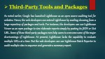 third party tools and packages