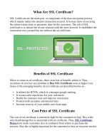 what are ssl certificate