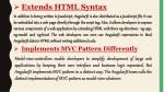 extends html syntax