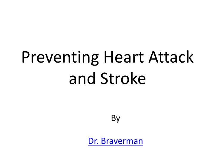 preventing heart attack and stroke n.