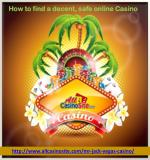 how to find a decent safe online casino