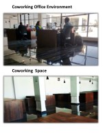 coworking office environment