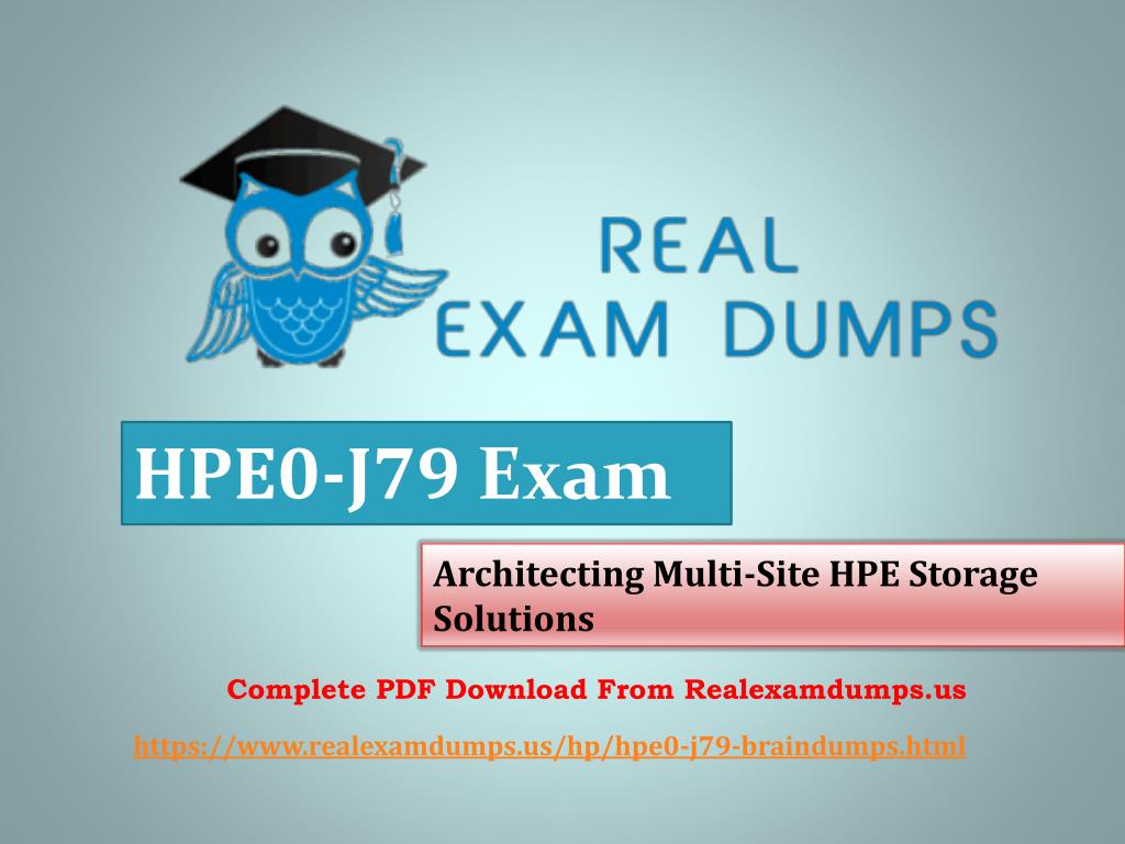 PPT - HPE0-J79 Braindumps | Download HPE0-J79 Questions & Answers