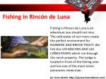 fishing in rinc n de luna