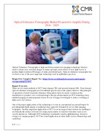 optical coherence tomography market projected