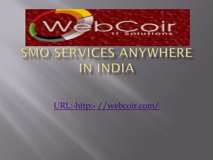 smo services anywhere in india n.
