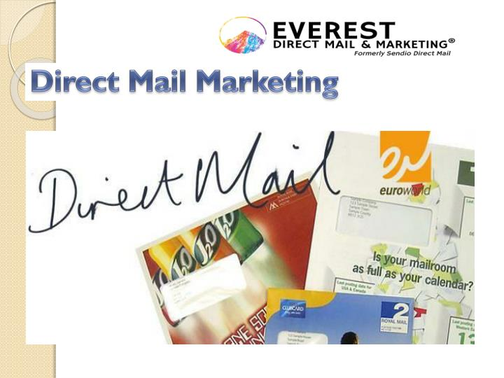direct mail marketing n.