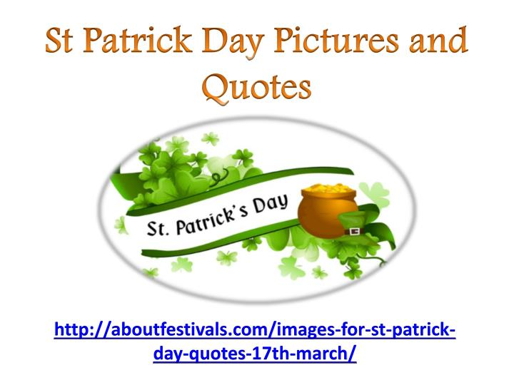 st patrick day pictures and quotes n.