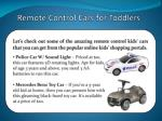 remote control cars for toddlers 3