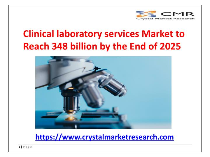 clinical laboratory services market to reach n.