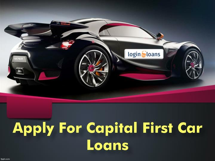 apply for capital first car loans n.