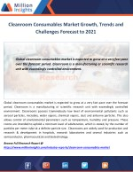 cleanroom consumables market growth trends