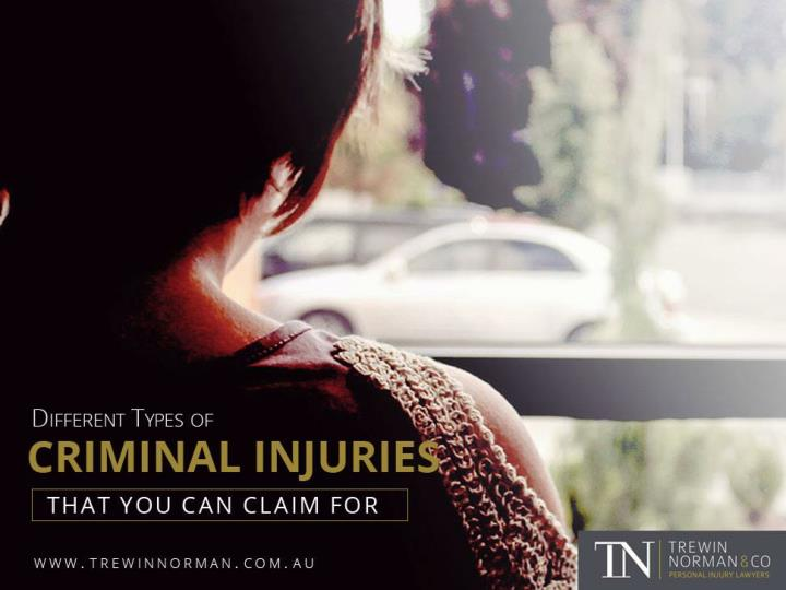 different types of criminal injuries that you can claim for n.