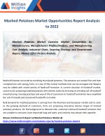mashed potatoes market opportunities report