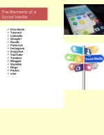 the elements of a social media