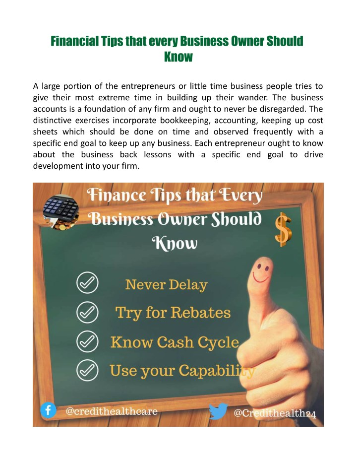 financial tips that every business owner should n.