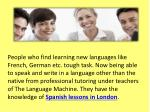 people who find learning new languages like