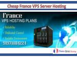cheap france vps server hosting