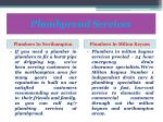 plumbproud services