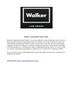 workers compensation injury claims