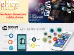 mobile app development mobiles phones