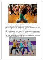 do you know that zumba classes