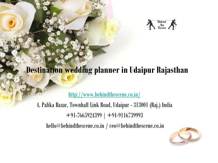 destination wedding planner in udaipur rajasthan n.