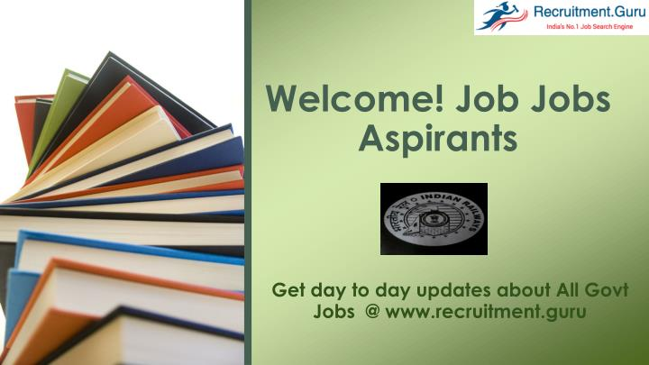 welcome job jobs aspirants n.