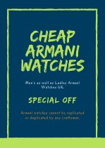 cheap armani watches