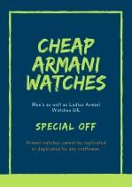 cheap armani watches