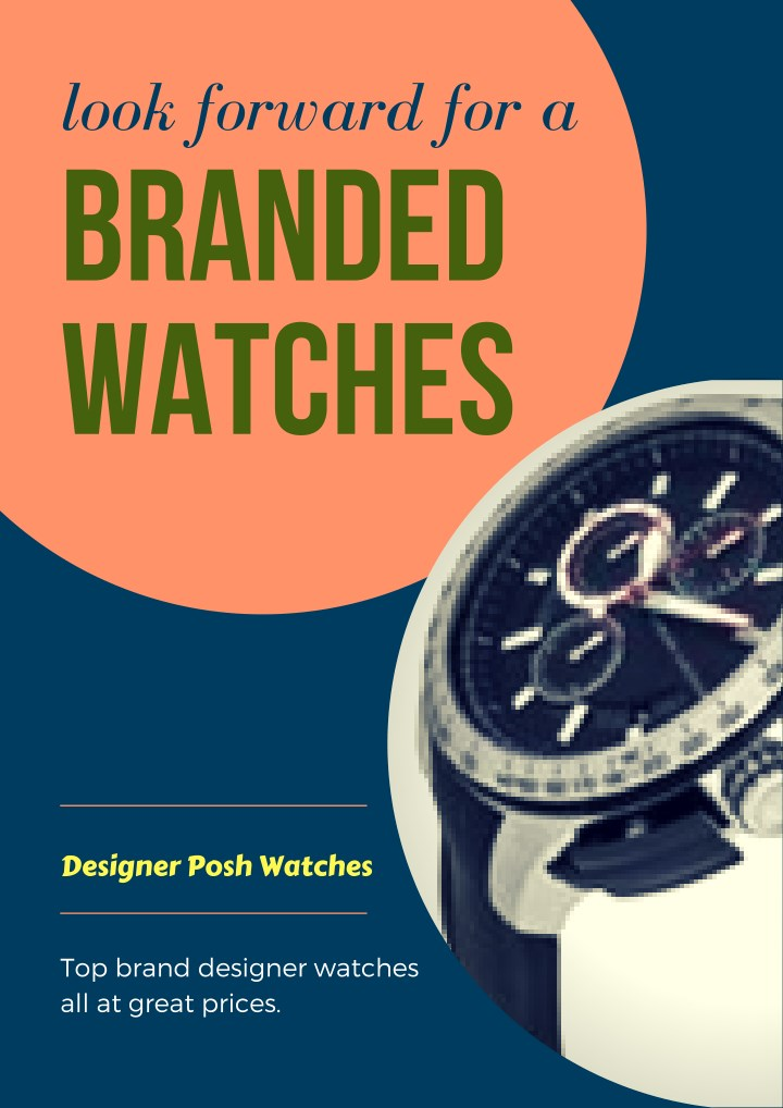 look forward for a branded watches n.