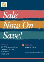 sale now on save