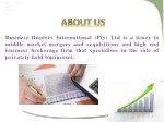 business hunters international pty ltd is a lower