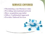 maximizing your business value providing