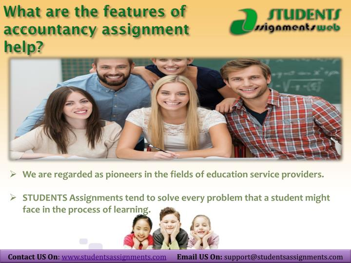 what are the features of accountancy assignment help n.