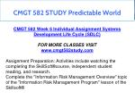 cmgt 582 study predictable world 9