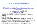 crj 305 predictable world 7