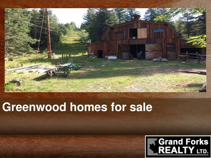 greenwood homes for sale n.