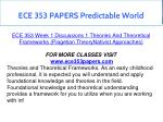 ece 353 papers predictable world 1
