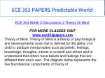 ece 353 papers predictable world 7