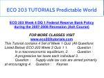 eco 203 tutorials predictable world 12