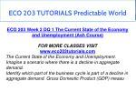 eco 203 tutorials predictable world 5