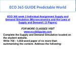 eco 365 guide predictable world 12