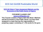 eco 365 guide predictable world 15