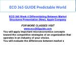 eco 365 guide predictable world 25