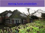 woning huren amsterdam