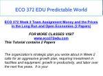 eco 372 edu predictable world 19